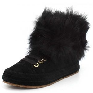Ugg Womens Antoine Fur Fashion Sneaker